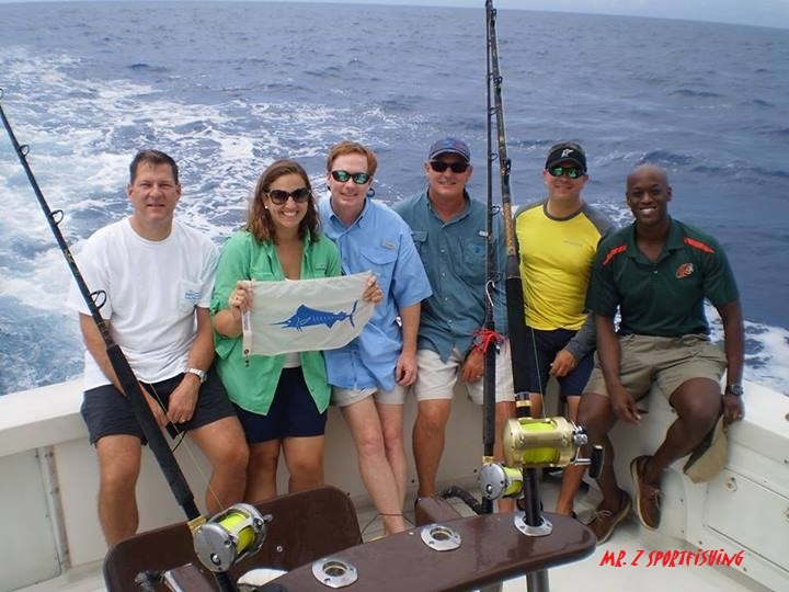 Melissa Putnam Releases a Blue Marlin