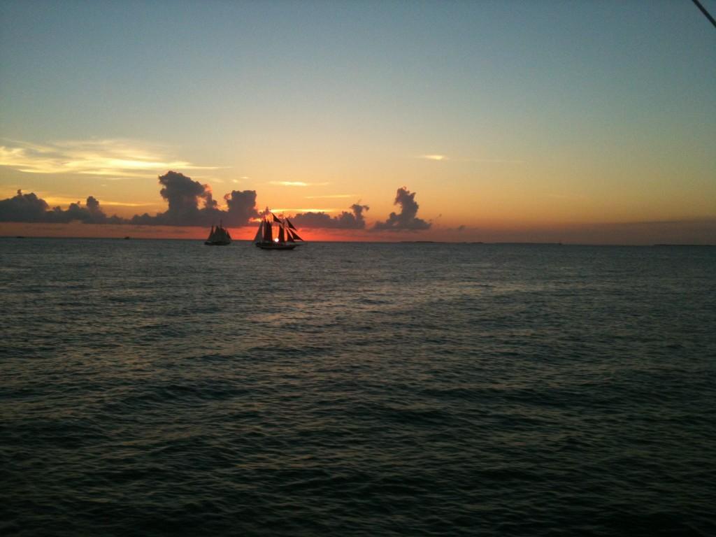 Key West Sailboat Sunset