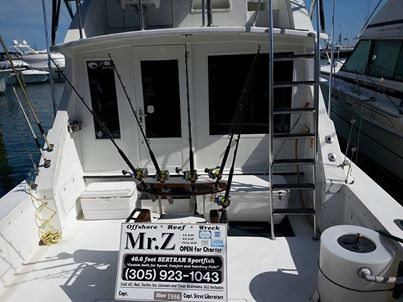 Mr.Z back at the dock