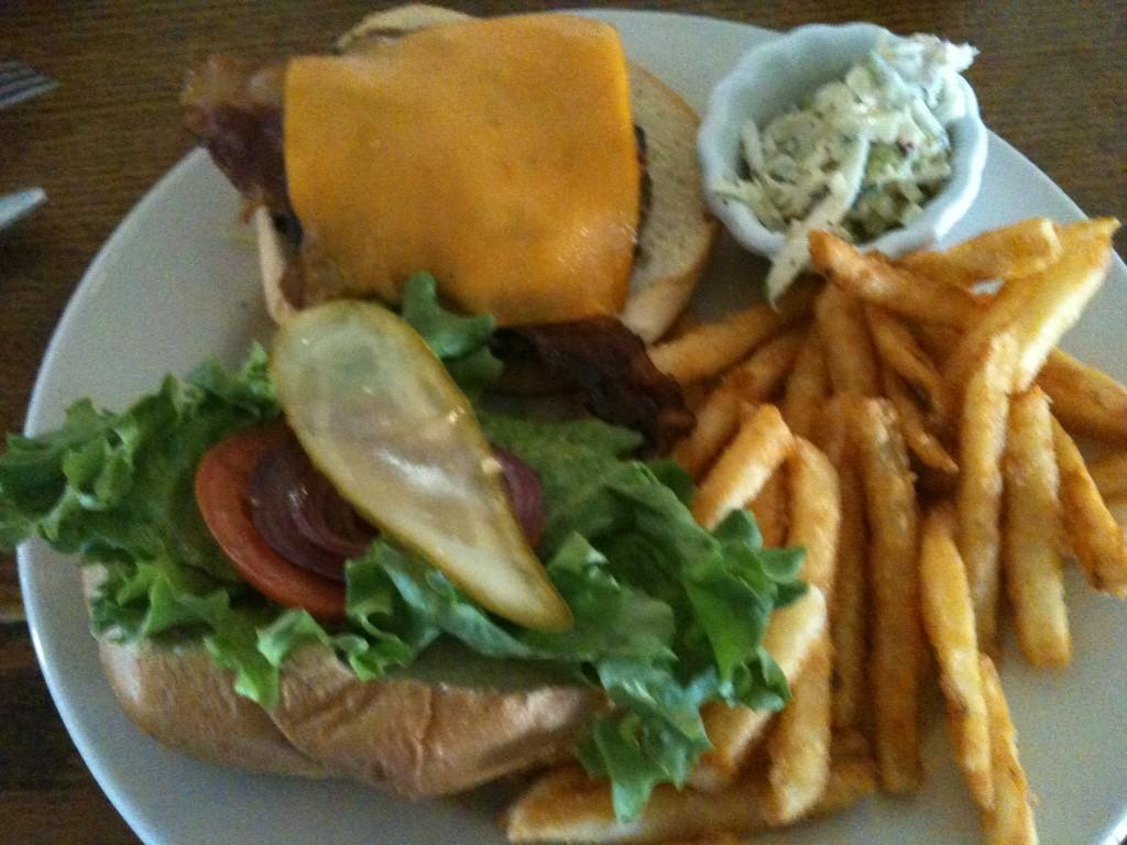 Alonzo's burger