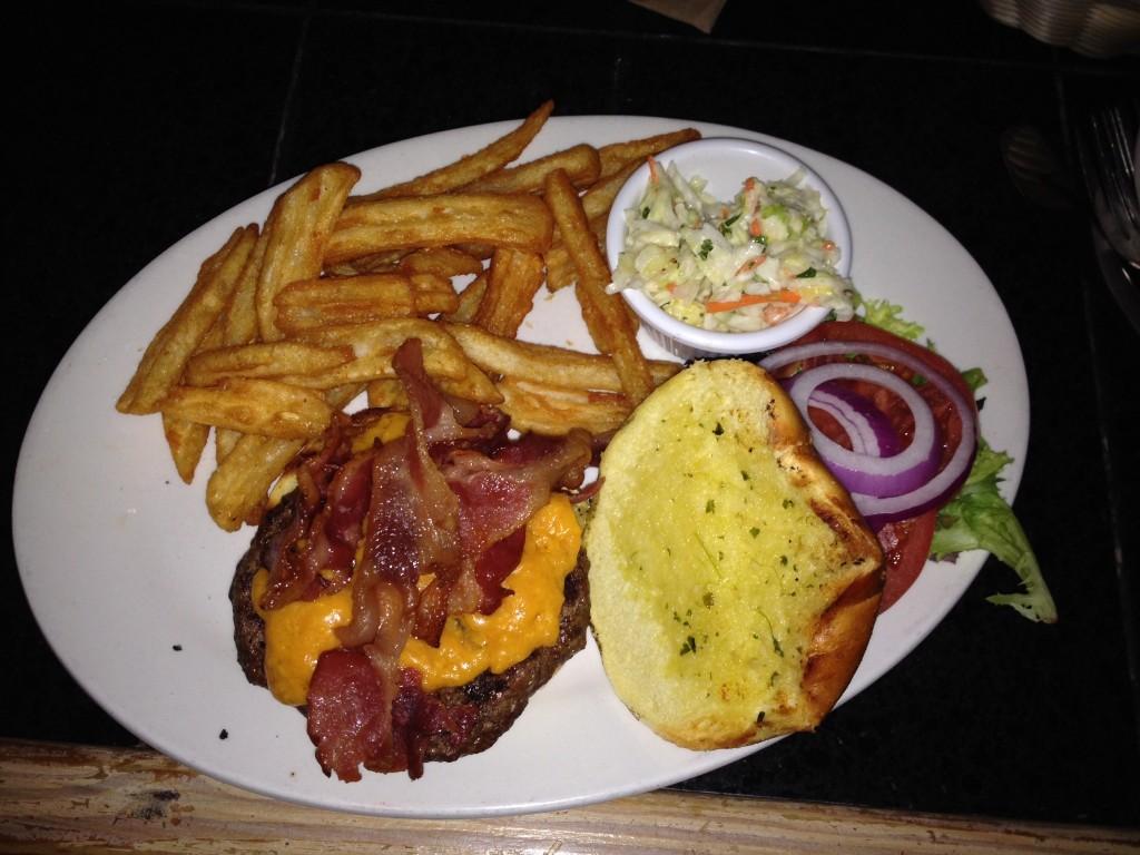 Kaya Island Eats burger