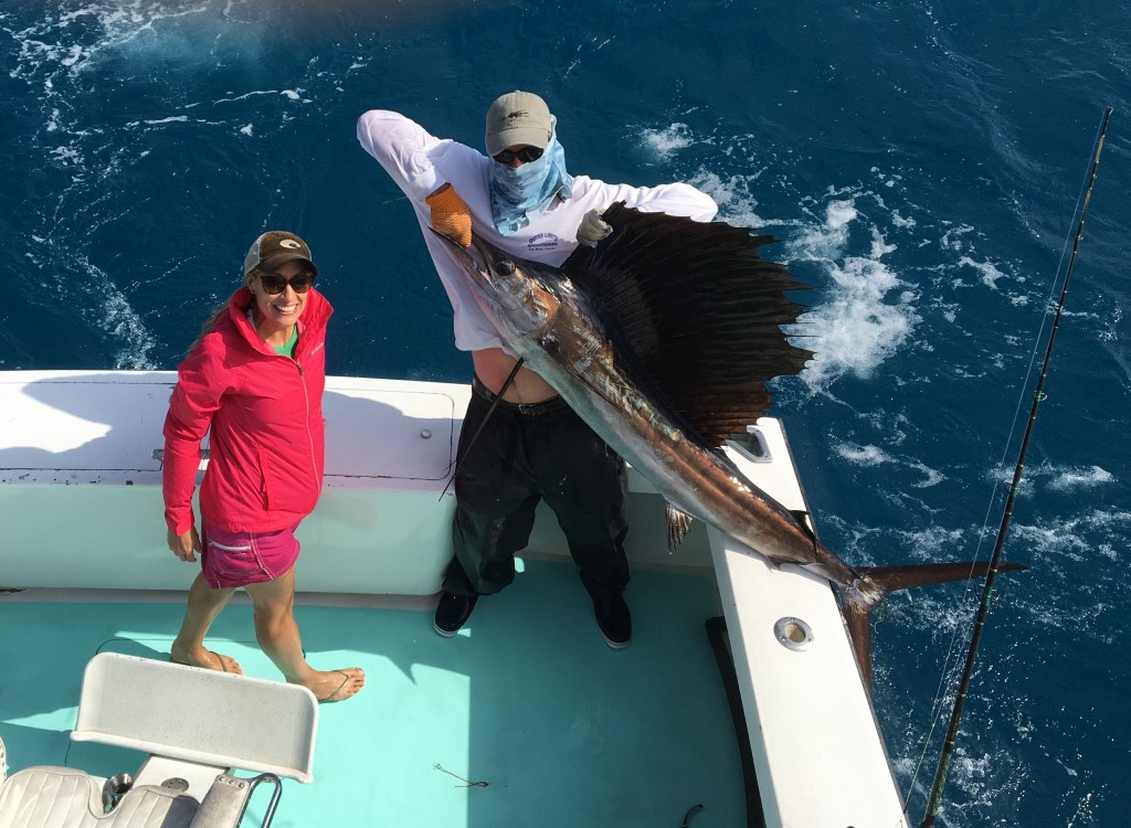 Stephanie's First Sailfish