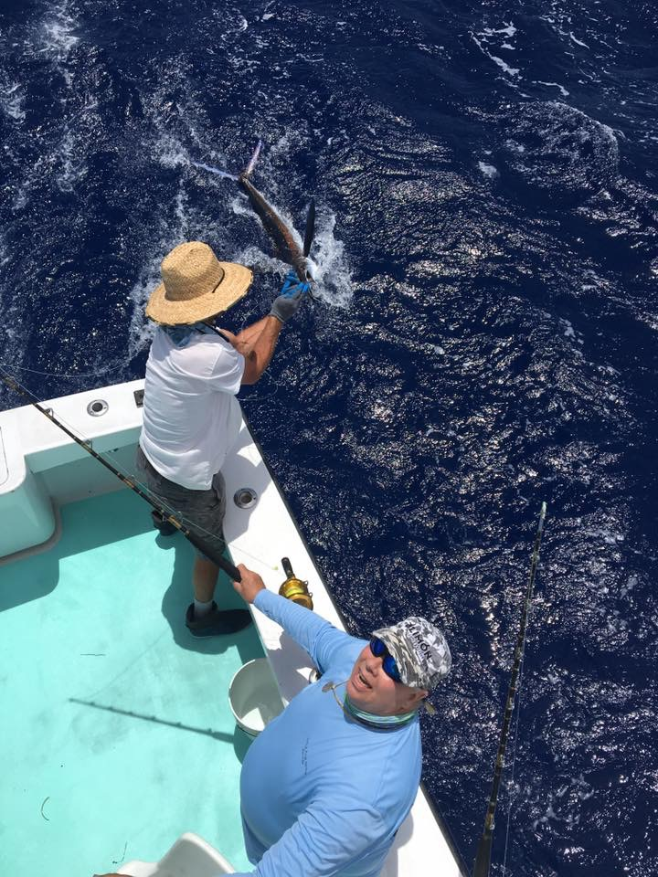 Bruce's first White Marlin release