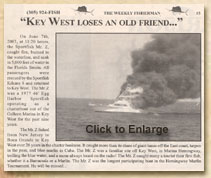 Key West Loses an Old Friend