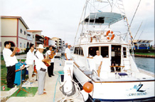 The Mr. Z in Cuba for the Marlin Tournament in 2002