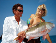 Beautiful Girl, Beautiful Mutton Snapper!