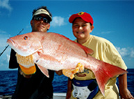 Huge Red Snapper